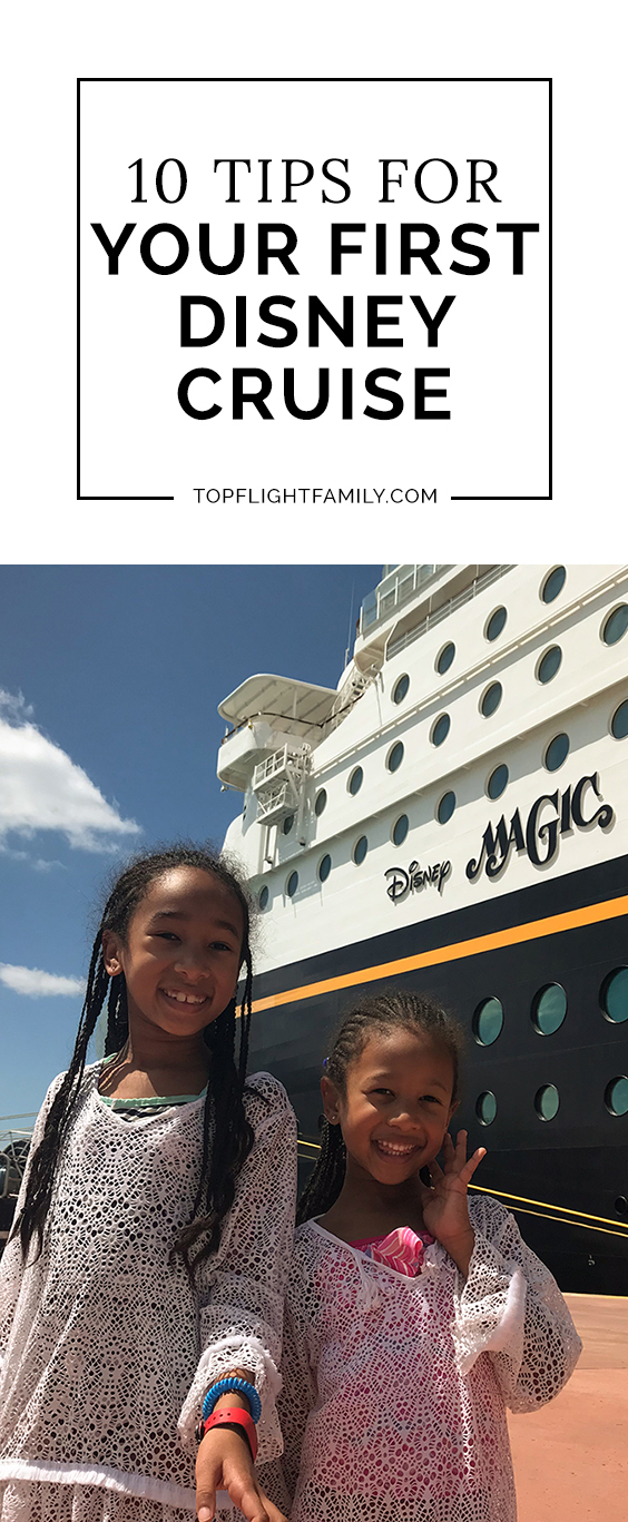 Going on your first Disney cruise? Here are 10 essential first time cruise tips if you're looking for Disney Cruise advice for first time cruisers.