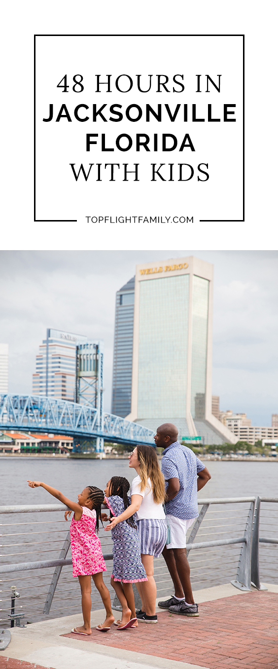 Looking for things to do with kids in Jacksonville FL? Check out our family travel guide, with the perfect 48-hour itinerary for kids and families.