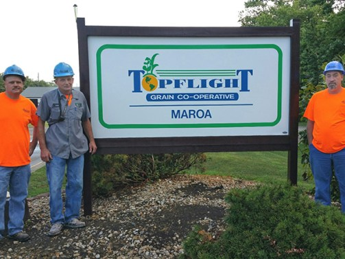 Topflight Maroa Sign