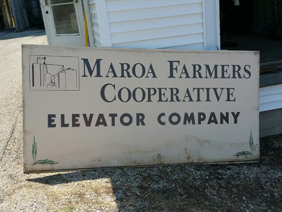 Old Maroa Sign