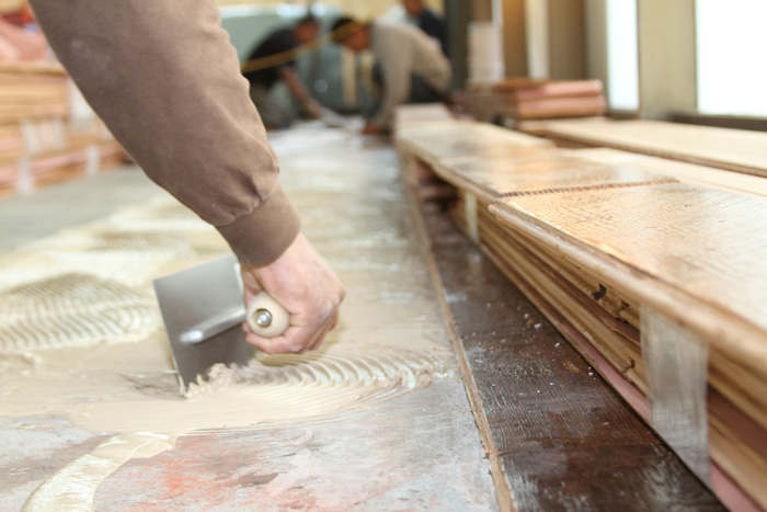 Charming How Install Hardwood Floors On Concrete Part - 7: Installing A Hardwood Floor The Preparation Process Top Flooring