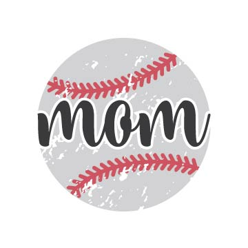 free Baseball Mom Svg file