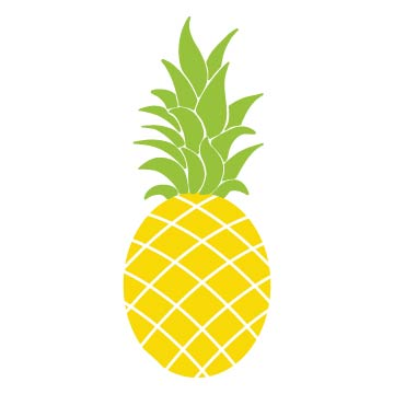 free pineapple svg file for cutting machines