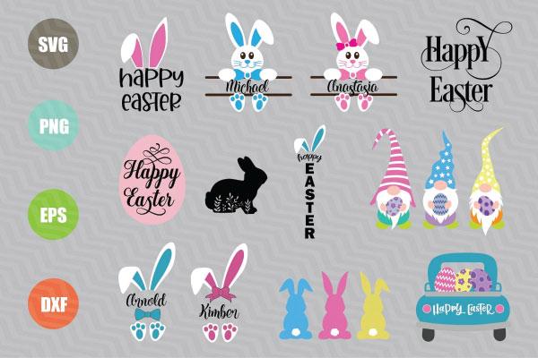 Easter Svg Bundle for cricut machine