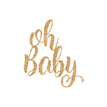 Oh Baby free svg file for cricut, silhouette cameo etc
