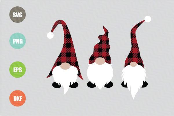 Christmas Gnomes svg files