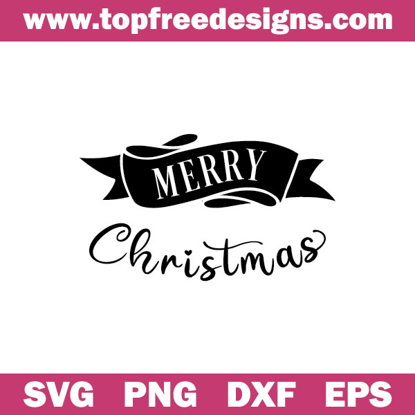 Merry Christmas free svg file