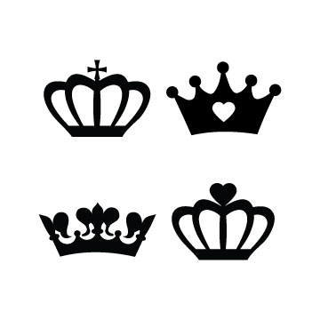 free Crowns svg files