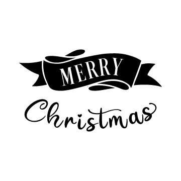 free svg file Merry Christmas