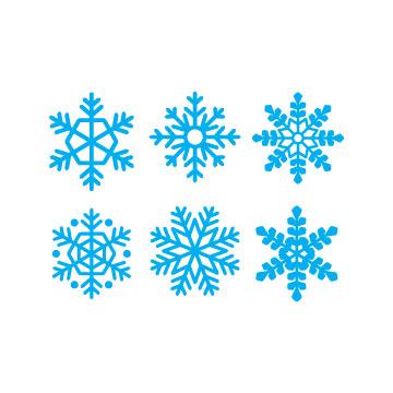 free Snowflakes svg