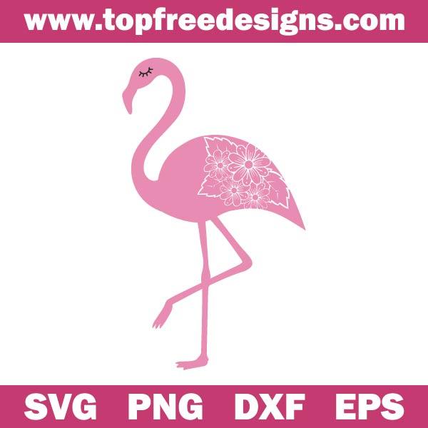 flamingo svg free