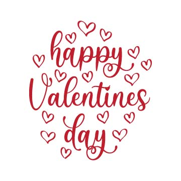 Happy Valentines Day svg