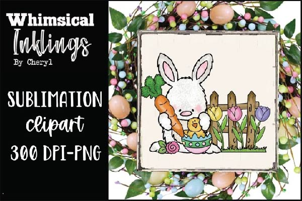 free Easter Sublimation Clipart