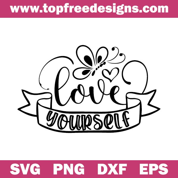 Love yourself svg