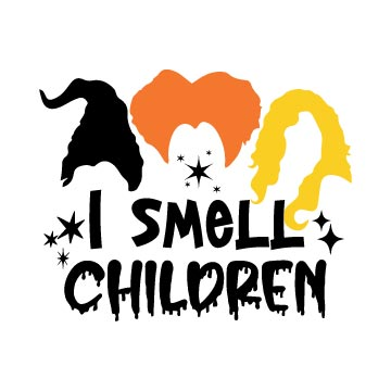 I smell Children svg free