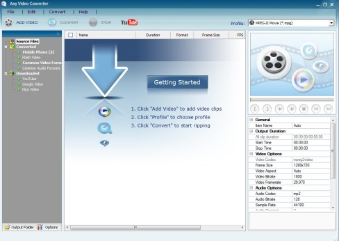 Any Video Converter 6.3.1 Serial Key