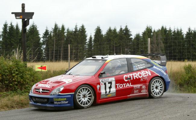 DEUTSCHLAND RALLYE WRC 07/2003                   FREDERIC LE FLOC'H