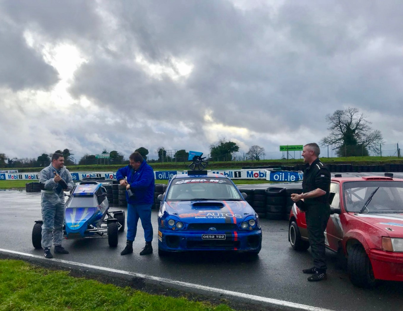 "Repro Free Photo attached from RallySprint in Mondello. "" Sunday's winners attached. Buggy winner, Russell Woods, Overall winner, Padraig Egan, 2 wheel drive winner, Jason Keogh."""