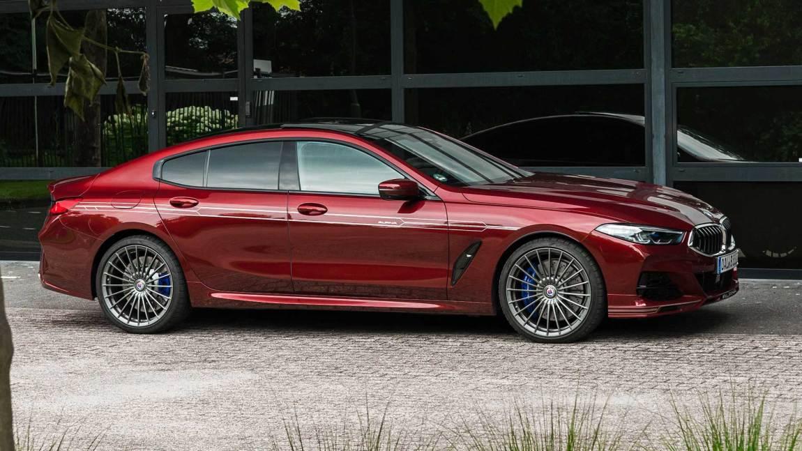 Alpina B8 Gran Coupé (BMW) in red