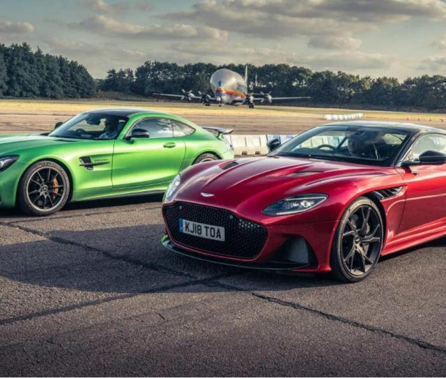 Aston Dbs Superleggera Vs The Stopwatch