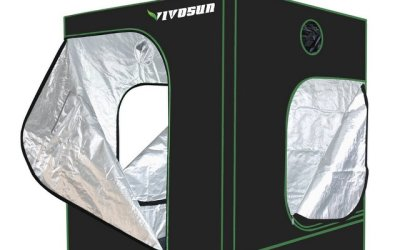 VivoSun Hydroponic Observation Window Grow Tent Review
