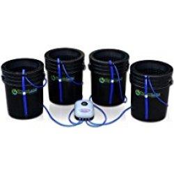 Deep Water Culture (DWC) Hydroponic Bubbler Bucket Kit by PowerGrow