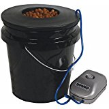 HTGSupply 5-Gallon Bubble Boy Single Shot Deep Water Culture (DWC)