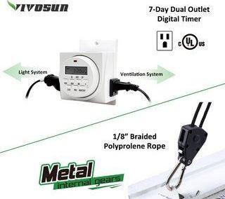 VIVOSUN Hydroponic 1000 Watt