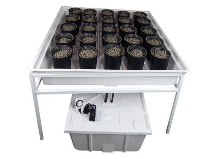 best hydroponic system Viagrow V4X4COMP Ebb & Flow