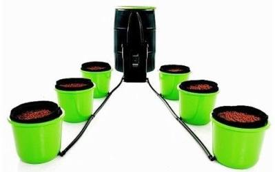 Oxygen Pot, 6 Bucket XL Ebb and Flow System Review
