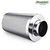 Amagabeli 4 inch Carbon Filter Odor Control