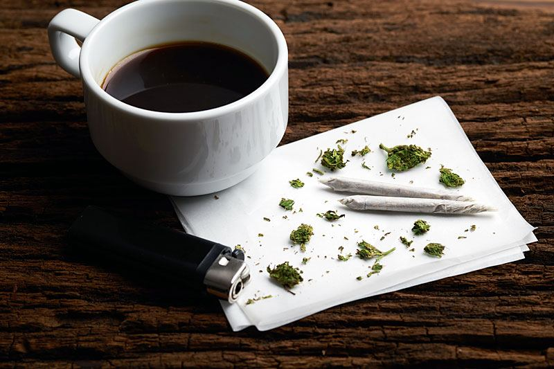 coffee-marijuana