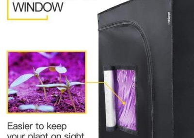 ipower hydroponic grow tent for weed