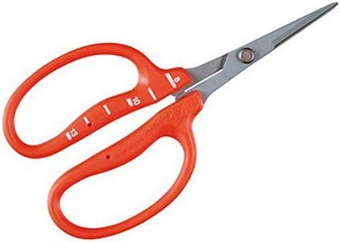 Chikamasa B-500sf Stainless Steel Scissors Fluorine Coating