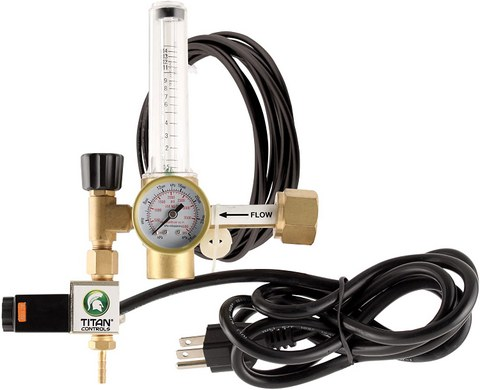 best grow room co2 regulator
