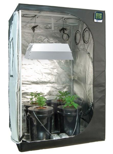 hydroponic grow tent setup