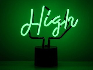 Amped & Co High Neon Desk Light