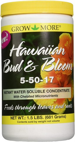 Grow More 7505 Hawaiian Bud and Bloom Fertilizer