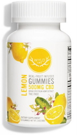 wyldcbd Lemon CBD Gummies
