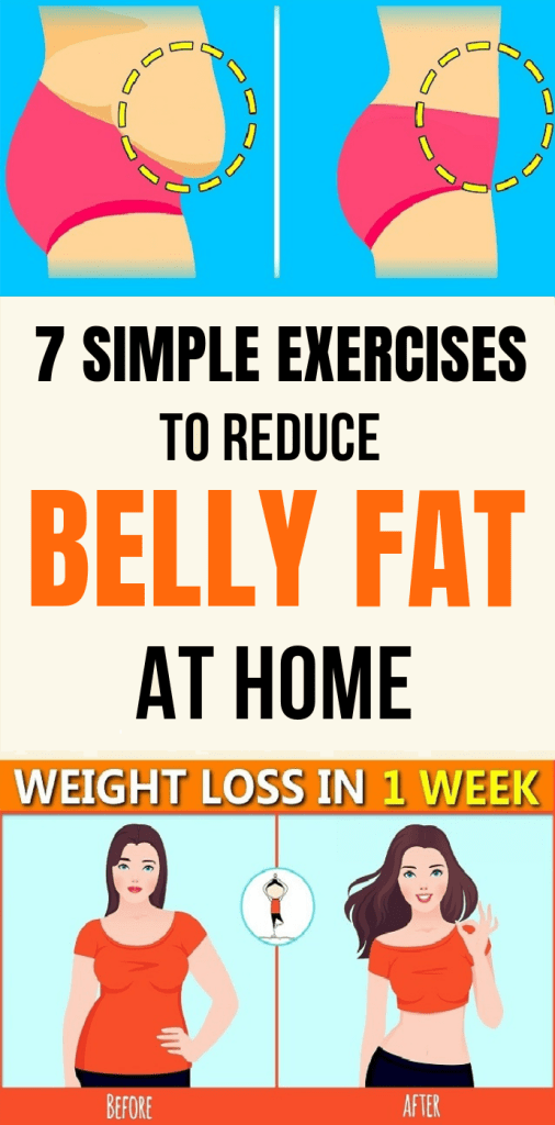 exercises to lose belly fat fast
