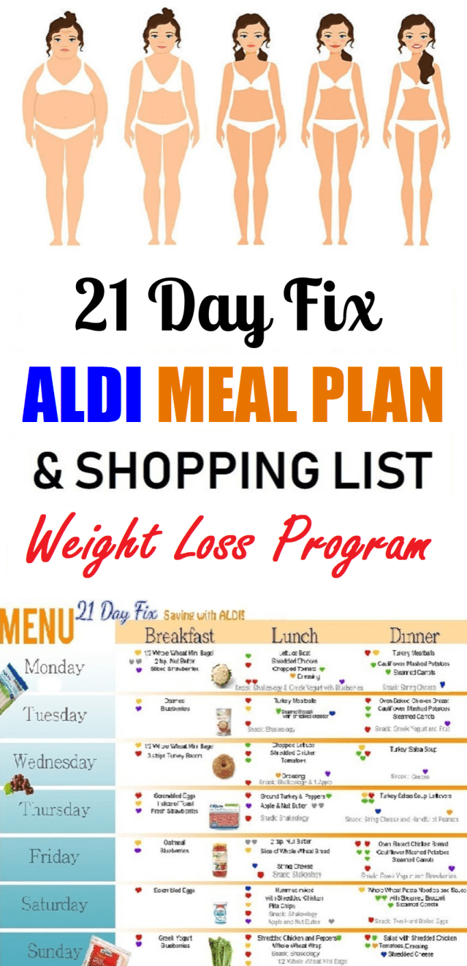 aldi meal plan weightloss