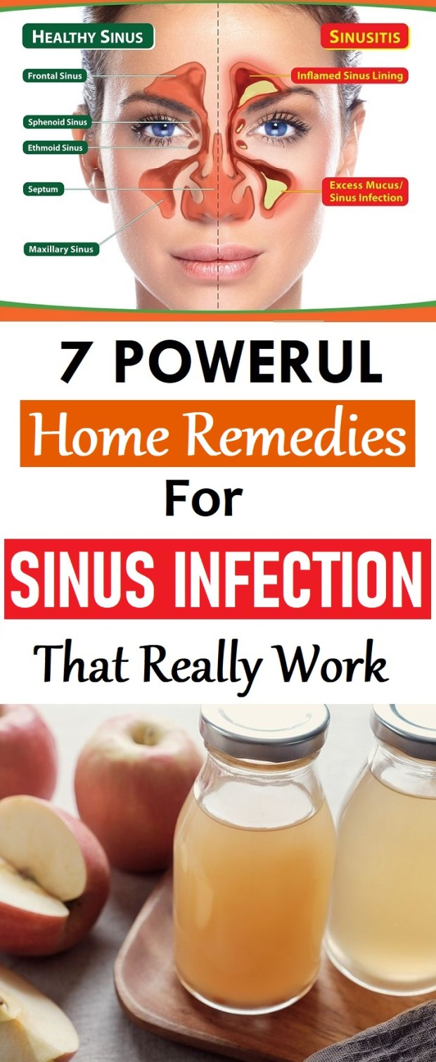 home remedies for sinus relief