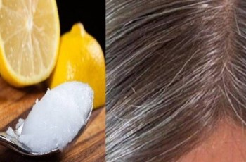 natural remedy for gray hair