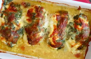 Spinach Chicken Casserole
