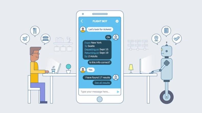charlar con el chatbot
