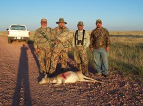 Joe, Topher, Chris, Vern, Antelope