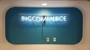 BigCommerce Neon sign