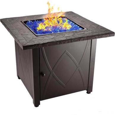 Endless Summer 30 Outdoor Propane Gas Fire Pit Table
