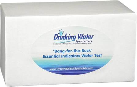 "The ""Bang-for-the-buck"" Essential Indicators Water Test"
