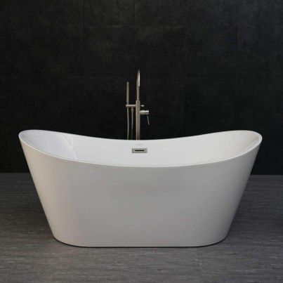 WOODBRIDGE BTA-1515 67 Acrylic Freestanding Bathtub